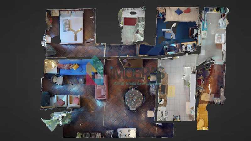 50 Ap Planta - Apartamento 3 quartos à venda Gávea, IMOBRAS RJ - R$ 950.000 - BOAP30793 - 15