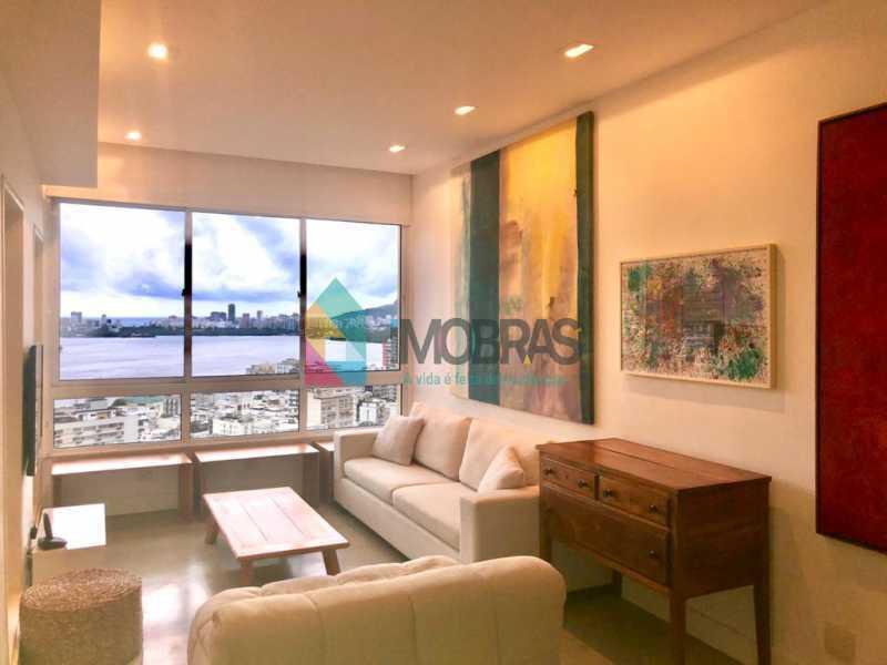 3 - Apartamento 2 quartos à venda Jardim Botânico, IMOBRAS RJ - R$ 1.250.000 - BOAP21057 - 1