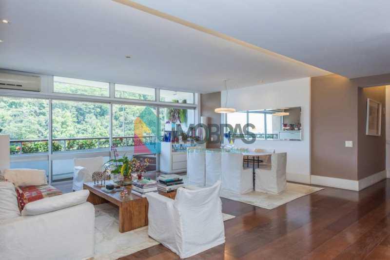 6 - Apartamento 3 quartos à venda Leblon, IMOBRAS RJ - R$ 4.400.000 - BOAP30797 - 6