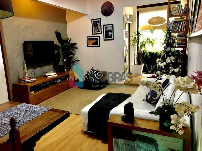 4 - Apartamento 2 quartos à venda Humaitá, IMOBRAS RJ - R$ 840.000 - BOAP21080 - 1