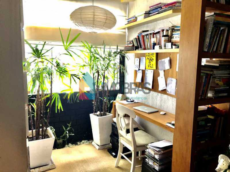 10 - Apartamento 2 quartos à venda Humaitá, IMOBRAS RJ - R$ 840.000 - BOAP21080 - 4