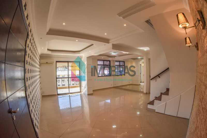1 - Excelente cobertura duplex localizada próximo ao metrô da estação Uruguai em rua residencial e arborizada. - BOCO30058 - 1