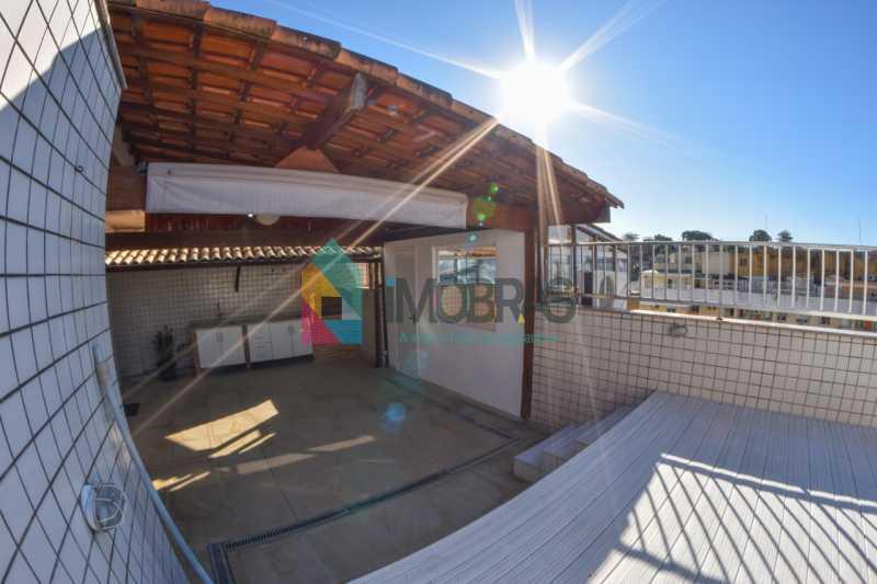 16 - Excelente cobertura duplex localizada próximo ao metrô da estação Uruguai em rua residencial e arborizada. - BOCO30058 - 17