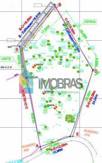 6 - Terreno Bifamiliar à venda Rua Casuarina,Humaitá, IMOBRAS RJ - R$ 3.000.000 - CPBF00001 - 7