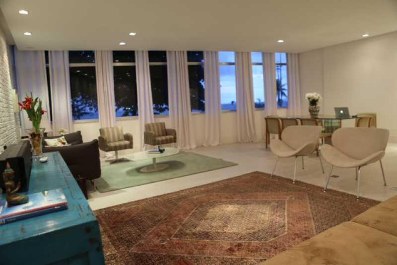 1 - Sala 1 - Apartamento Avenida Atlântica,Copacabana, IMOBRAS RJ,Rio de Janeiro, RJ Para Venda e Aluguel, 5 Quartos, 300m² - AP669 - 3