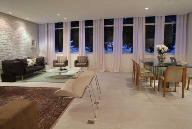2 - Sala 2 - Apartamento Avenida Atlântica,Copacabana, IMOBRAS RJ,Rio de Janeiro, RJ Para Venda e Aluguel, 5 Quartos, 300m² - AP669 - 4