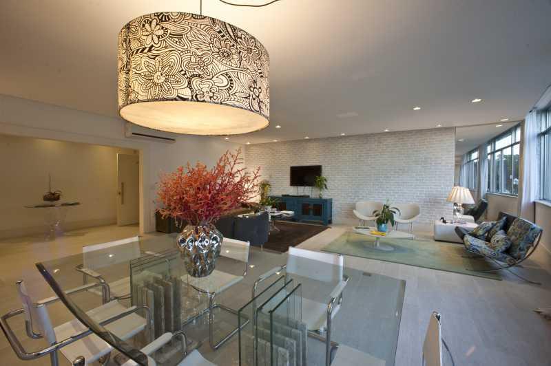 3- Sala - Apartamento Avenida Atlântica,Copacabana, IMOBRAS RJ,Rio de Janeiro, RJ Para Venda e Aluguel, 5 Quartos, 300m² - AP669 - 5