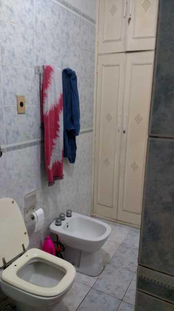 17 - Banheiro Social 2- armár - Apartamento À VENDA, Copacabana, Rio de Janeiro, RJ - AP4991 - 17