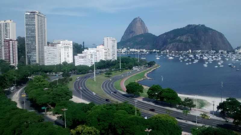 AP3245_3 - Botafogo, coladinho shopping, sala, quarto, vista panorâmica! - AP3245 - 20