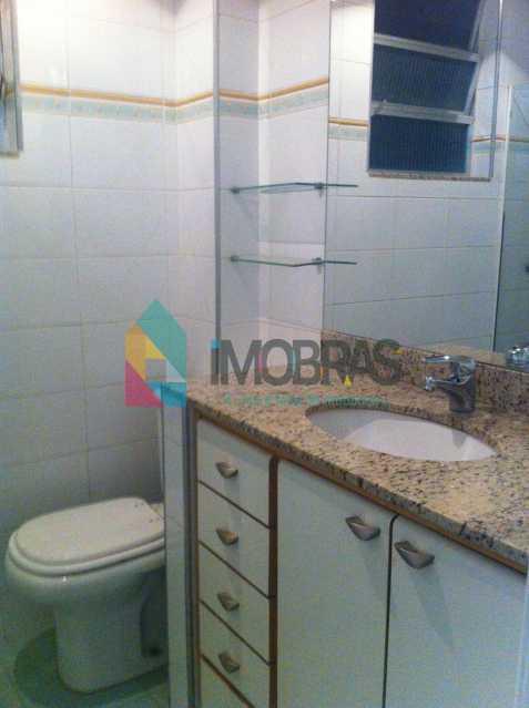 Banheiro comum - APARTAMENTO COM VISTA LAGOA DE 3 QUARTOS, SUÍTE, DEPENDÊNCIAS COMPLETAS!! - AP3858 - 27