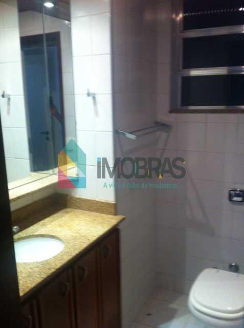 Banheiro suite - APARTAMENTO COM VISTA LAGOA DE 3 QUARTOS, SUÍTE, DEPENDÊNCIAS COMPLETAS!! - AP3858 - 28