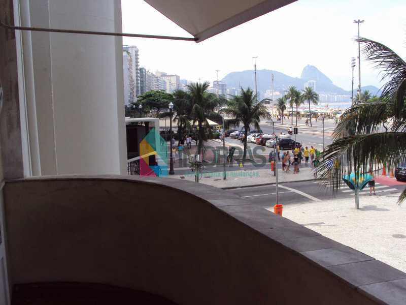 front windows balcony view 1 - APARTAMENTO COM VISTA MAR OPORTUNIDADE COPACABANA!!!! - AP1237 - 1