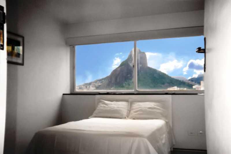 6 - 04 Quarto 1 - Flat À VENDA, Leblon, Rio de Janeiro, RJ - FLA1793 - 3