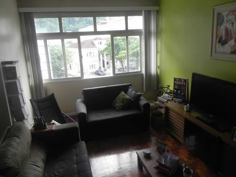 Sala1.2 - Apartamento à venda Rua São Clemente,Botafogo, IMOBRAS RJ - R$ 1.050.000 - BOAP20050 - 1