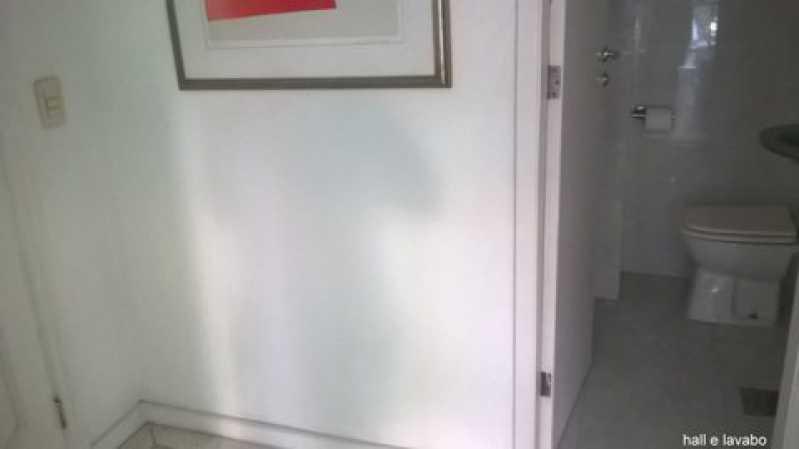 aa hall e lavabo - Apartamento À VENDA, Gávea, Rio de Janeiro, RJ - CPAP30133 - 3