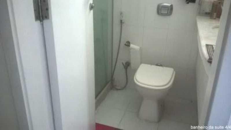 Banheiro da suite - Apartamento À VENDA, Gávea, Rio de Janeiro, RJ - CPAP30133 - 11