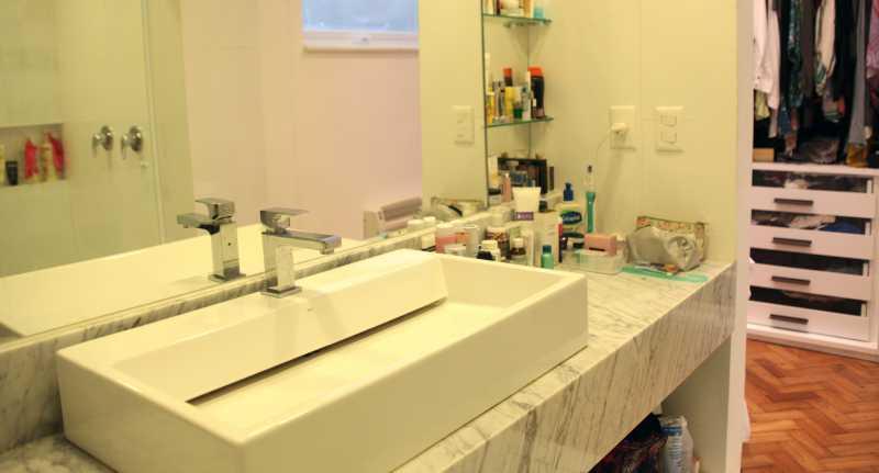 Banheiro Ensuite 1 - Apartamento 3 quartos Copacabana - CPAP30161 - 10