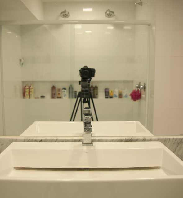 Banheiro Ensuite 2 - Apartamento 3 quartos Copacabana - CPAP30161 - 14