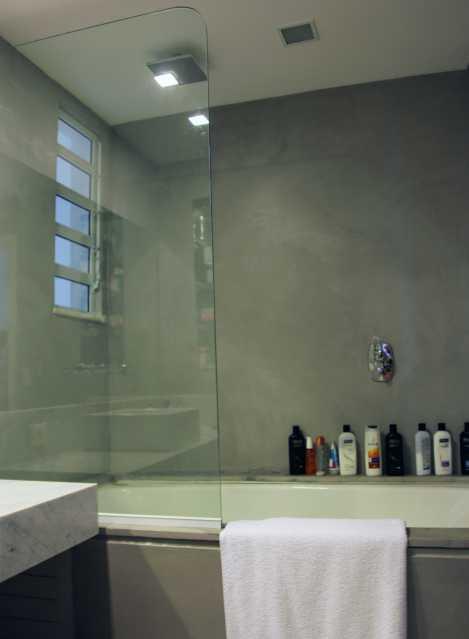 Banheiro Social 1 - Apartamento 3 quartos Copacabana - CPAP30161 - 15