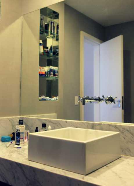 Banheiro Social 2 - Apartamento 3 quartos Copacabana - CPAP30161 - 11