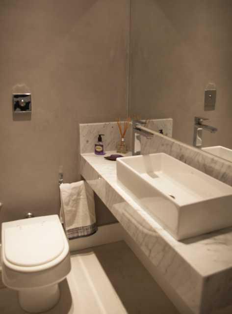 Lavabo 1 - Apartamento 3 quartos Copacabana - CPAP30161 - 12