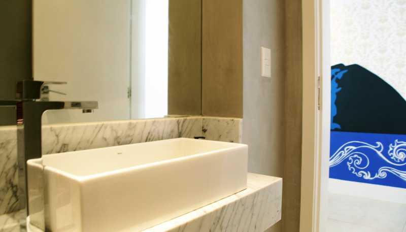 Lavabo 2 - Apartamento 3 quartos Copacabana - CPAP30161 - 13