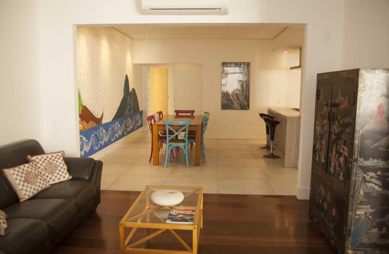 Sala de Estar 1 - Apartamento 3 quartos Copacabana - CPAP30161 - 4