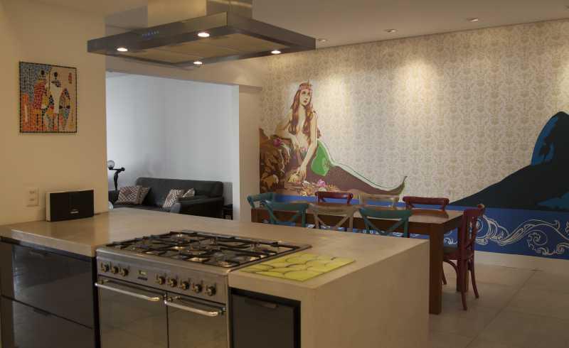 Sala de Jantar - Apartamento 3 quartos Copacabana - CPAP30161 - 20