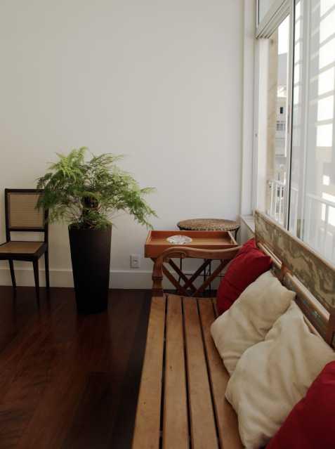 Veranda - Apartamento 3 quartos Copacabana - CPAP30161 - 5