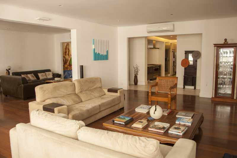 Sala de Estar 2 - Apartamento 3 quartos Copacabana - CPAP30161 - 22