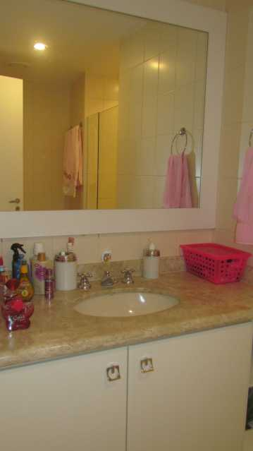 Banh social - Apartamento 3 quartos Barra da Tijuca - BOAP30093 - 7