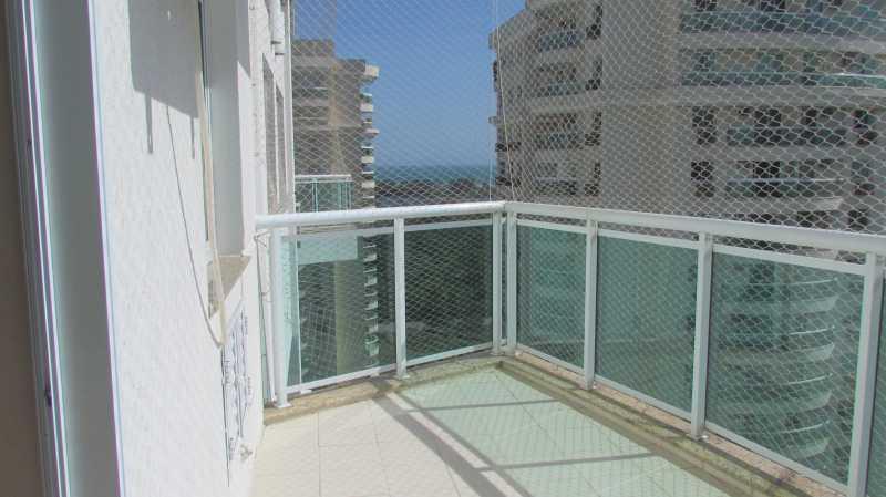 Varanda cont - Apartamento 3 quartos Barra da Tijuca - BOAP30093 - 4