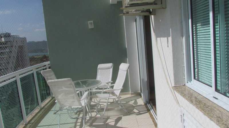 Varanda - Apartamento 3 quartos Barra da Tijuca - BOAP30093 - 5