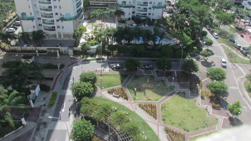 Vista da varanda - Apartamento 3 quartos Barra da Tijuca - BOAP30093 - 1