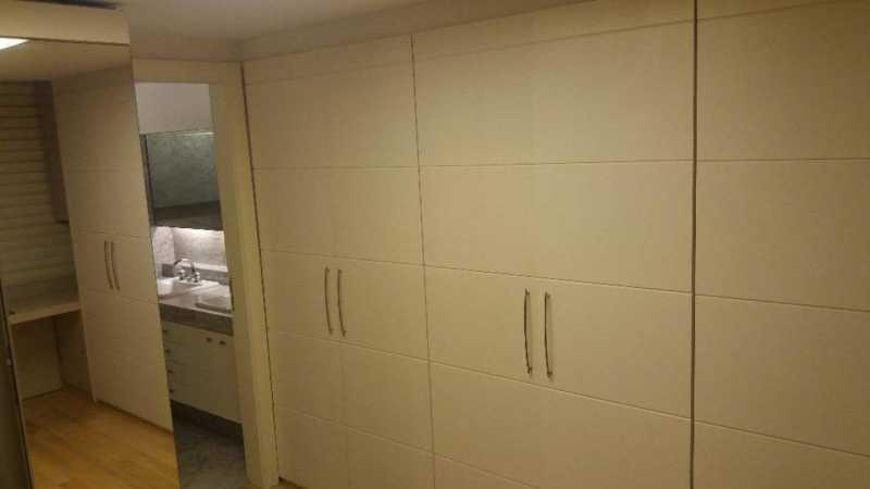 Quarto 1 - Armario Embutido Su - Apartamento 3 quartos São Conrado - CPAP30422 - 9