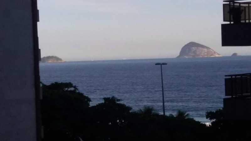 Vista Parcial Mar - Apartamento 3 quartos São Conrado - CPAP30422 - 29