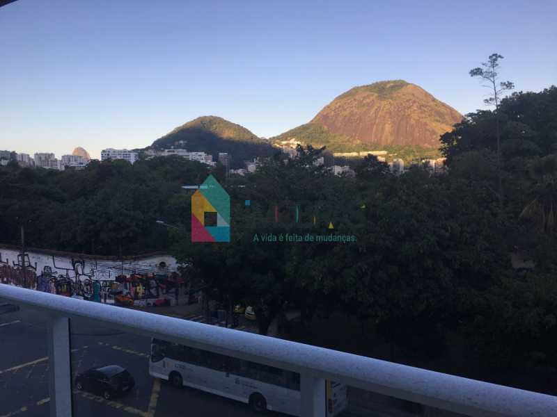 WhatsApp Image 2018-02-25 at 1 - TOUCH - Sala Comercial com sacada, frontal, com direito a uso da vaga. Coração do Jardim Botânico - BOSL00038 - 1
