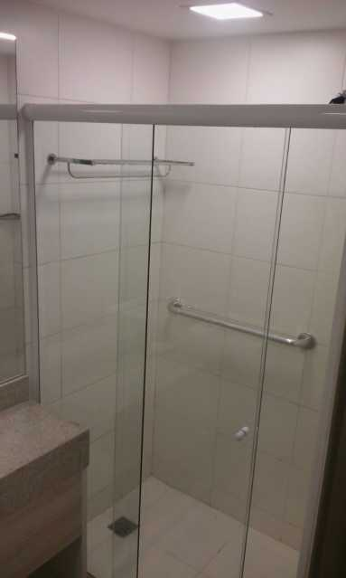 Banheiro social - Apartamento à venda Avenida das Américas,Recreio dos Bandeirantes, Rio de Janeiro - R$ 340.000 - IPAP10004 - 17