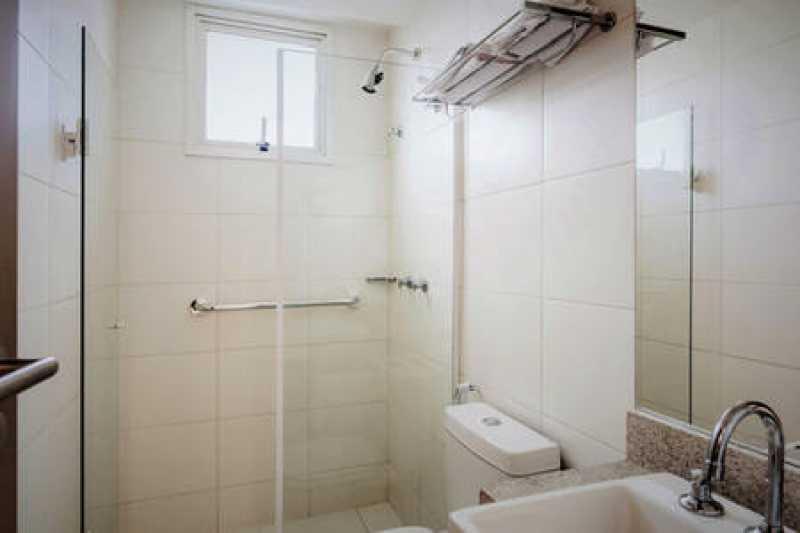 banheiro - APARTAMENTO 2 QUARTOS RECREIO DOS BANDEIRANTES - IPAP20008 - 7