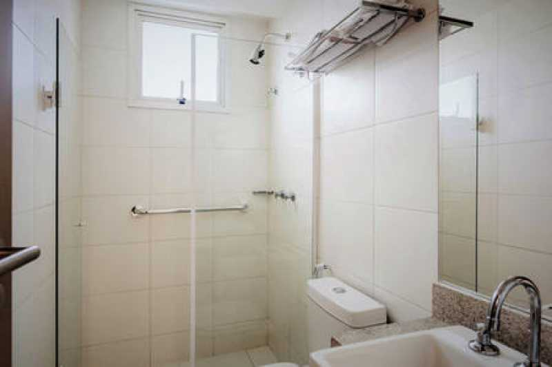 banheiro - APARTAMENTO 2 QUARTOS RECREIO DOS BANDEIRANTES - IPAP20008 - 15
