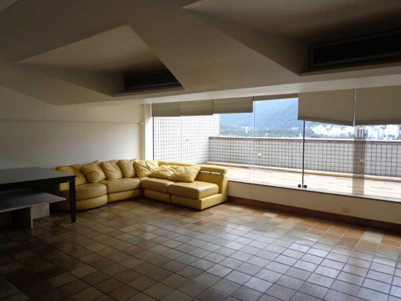 DSC02310 1 - Cobertura à venda Avenida Epitácio Pessoa,Lagoa, IMOBRAS RJ - R$ 3.800.000 - IPCO30004 - 4