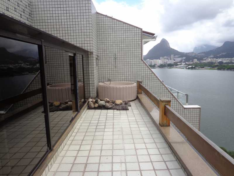 DSC02348 - Cobertura à venda Avenida Epitácio Pessoa,Lagoa, IMOBRAS RJ - R$ 3.800.000 - IPCO30004 - 21