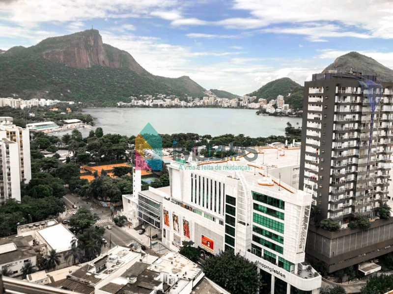 Vista Lagoa e Cristo - Flat à venda Rua Almirante Guilhem,Leblon, IMOBRAS RJ - R$ 1.272.000 - BOFL10012 - 4
