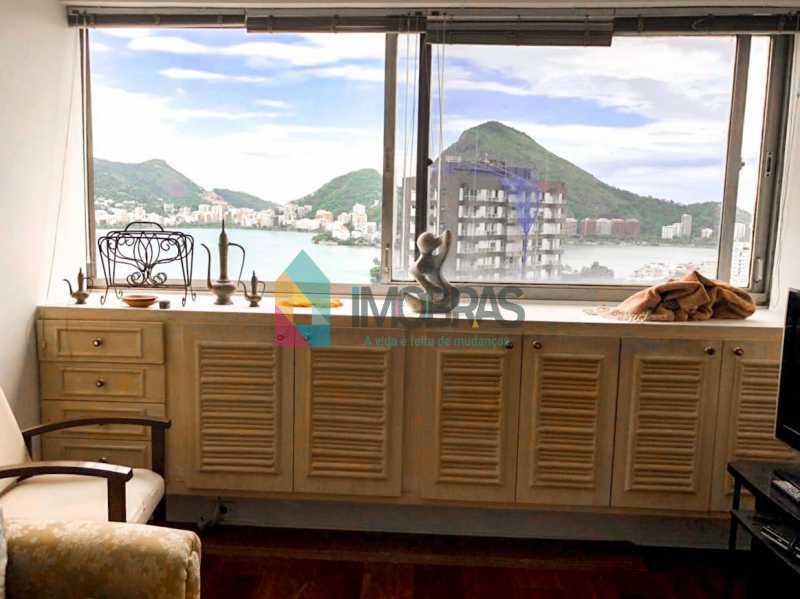 Vista - Flat à venda Rua Almirante Guilhem,Leblon, IMOBRAS RJ - R$ 1.272.000 - BOFL10012 - 1