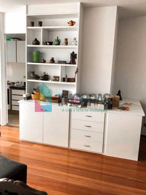 Sala - Flat à venda Rua Almirante Guilhem,Leblon, IMOBRAS RJ - R$ 1.272.000 - BOFL10012 - 3