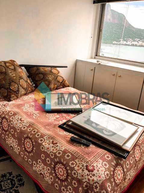 Quarto - Flat à venda Rua Almirante Guilhem,Leblon, IMOBRAS RJ - R$ 1.272.000 - BOFL10012 - 13