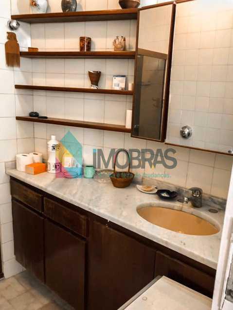 Banheiro - Flat à venda Rua Almirante Guilhem,Leblon, IMOBRAS RJ - R$ 1.272.000 - BOFL10012 - 10