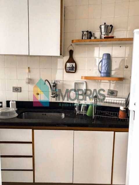 Cozinha - Flat à venda Rua Almirante Guilhem,Leblon, IMOBRAS RJ - R$ 1.272.000 - BOFL10012 - 14