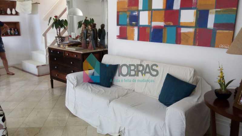 SALA - Cobertura 3 quartos à venda Lagoa, IMOBRAS RJ - R$ 2.980.000 - BOCO30029 - 5