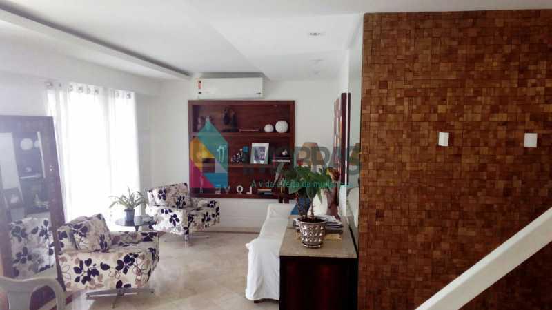 Sala - Cobertura 3 quartos à venda Lagoa, IMOBRAS RJ - R$ 2.980.000 - BOCO30029 - 1